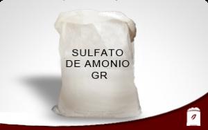 SULFATO DE AMONIO GR